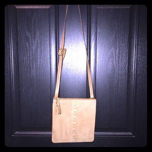 👜Coach Vintage Shoulder/crossbody Tan Suede Bag